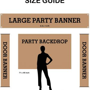 Large Happy 90th Birthday Banner Black and Gold, Large Birthday Banner for Men Women Outside Yard, 90th Birthday Party Sign Party Supplies Decorations for Outdoor (9.8 x 1.6 ft)